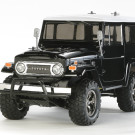 RC TOYOTA LAND CRUISER-40 BLACK PAINTED BODY (CC01) | 58564-600