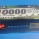 LIPO BATTERY 18.5V 10000mAh 12C   31037
