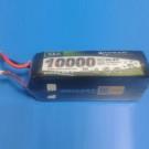 LIPO BATTERY 22.2V 10000mAh 12C   31038