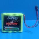 BATTERY TX NiMh 2500mAh 4.8V | KT2500-4.8V