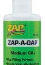 ZAP ADHESIVE ZAP-A-GAP CA | PT-01