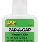 ZAP ADHESIVE ZAP-A-GAP CA | PT-02