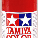 Tamiya Polycarbonate Spray Metal Red | PS-15