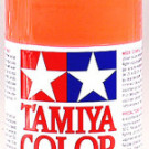 Tamiya Polycarbonate Spray Fluorescent Red | PS-20