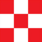 TRIM MONOKOTE RED & WHITE CHECK | TOPQ4111