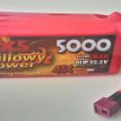 LIPO BATTERY 22.2V 5000mAh 45C | BP500045C