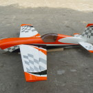 100CC CF VERSION EXTRA 330SC (ORANGE WHITE CHECKER) | EXTRA330SC-107-07