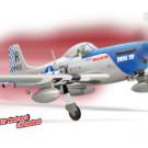 P51 MUSTANG GP/EP 50-60CC SCALE 1:5 ¼ ARF | PH100