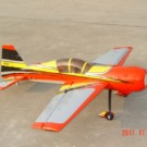 YAK54 50CC YELLOW/RED ARROW CH9 | YAK54-87-CH9