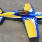 YAK54 30CC YELLOW/BLUE STAR | YAK54-73-06