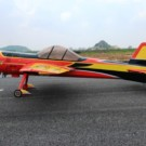 YAK55M 50CC CF VERSION-SCHEME 01 (RED/YELLOW/SILVER) | YAK55M-88-01