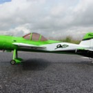 YAK55M 50CC CF VERSION-SCHEME 07 (GREEN/WHITE/BLACK) | YAK55M-88-07